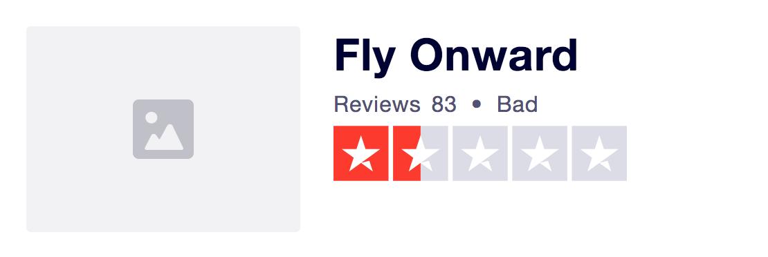 Problem with FlyOnward